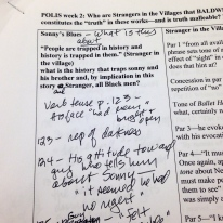 Polis Instructor's Reading Notes on James Baldwin's Short Stories