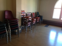 These chairs are waiting for you! Sign up for a Polis class today.